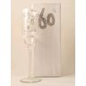 Hand-Painted Glass Champagne Flute